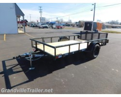 #1126 - 2017 Diamond C SINGLE AXLE UTILITY TRAILER 2PSA12x77