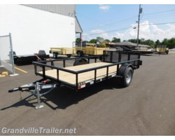 #1661 - 2017 Diamond C SINGLE AXLE UTILITY TRAILER 2PSA12X77
