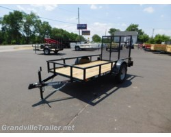 #1910 - 2018 Diamond C Ranger SINGLE AXLE UTILITY TRAILER RSA60X10