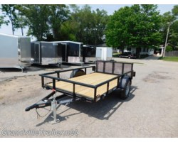 #1911 - 2018 Diamond C SINGLE AXLE UTILITY TRAILER 2PSA10X72
