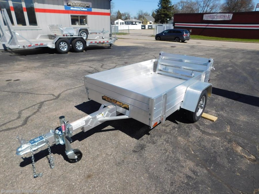 2017 Aluma Utility Trailer 486BT-12 Rack Kit