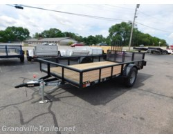 #1933 - 2018 Diamond C SINGLE AXLE UTILITY TRAILER 2PSA12X77