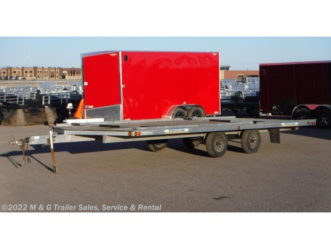 2009 Ridgeline 8.5'x20' Open Snow Trailer