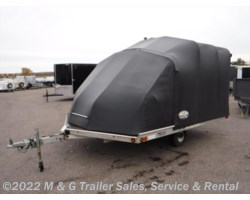 #016789 - 2003 Miscellaneous Sledbed Tilt Snowmobile Trailer with Snowcap