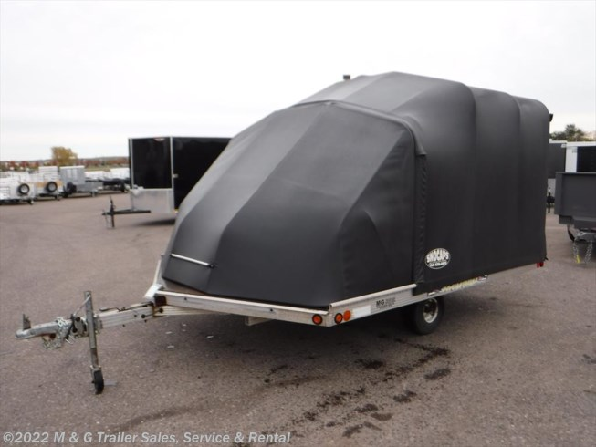 2003 Miscellaneous Sledbed Tilt Snowmobile Trailer with Snowcap