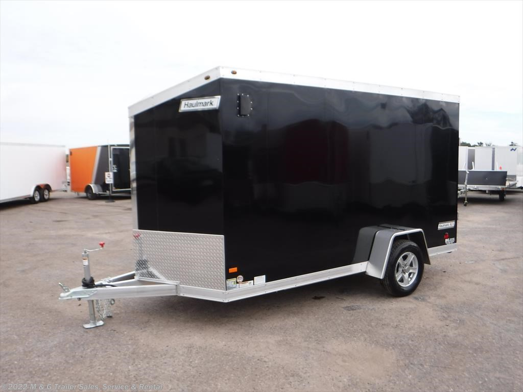 Used  Ft Optima Enclosed Car Trailer