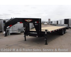 #270482 - 2017 H&H  8.5x20+5' High Deck GN Equipment Trailer - Black
