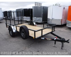 #270363 - 2017 H&H  5.5x12 Rail Side Utility Trailer - Black