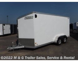 #340384 - 2017 Haulmark ALX 7x16TA Aluminum Enclosed Cargo - White
