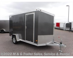 #352388 - 2017 Haulmark ALX 6x12SA Aluminum Enclosed Cargo Trailer - Charcoal