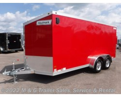 #352649 - 2017 Haulmark ALX 7x16TA Aluminum Enclosed Cargo - Red