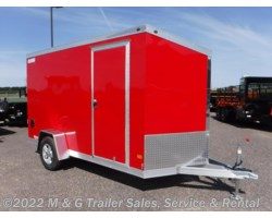 #352401 - 2017 Haulmark ALX 6x12SA Aluminum Enclosed Cargo Trailer - Red