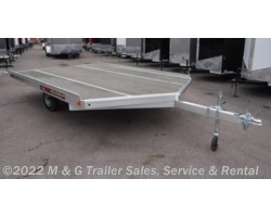 #172001 - 2018 Aluma 8612D Aluminum Snowmobile Trailer