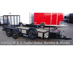 #217615 - 2018 Sure-Trac 7X14 Tube Top Utility Trailer - Black