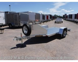 #173948 - 2018 Aluma MC10 Aluminum Motorcycle Trailer