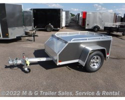 #173576 - 2018 Aluma AE46 Aluminum Enclosed Trailer - Charcoal