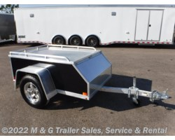 #173577 - 2018 Aluma AE46 Aluminum Enclosed Trailer - Black