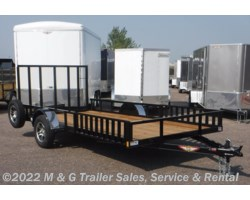 #275481 - 2017 H&H  8.5x14 Rail Side 5k ATV/Utility Trailer - Black