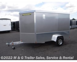 "#172731 - 2018 Aluma 6x10 Enclosed 6'6"" Int with Sport Package - Pewter"