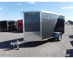 "#173245 - 2018 Aluma 6x12 Enclosed 6'6"" Int with Sport Package - Charco"