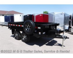 #218688 - 2018 Sure-Trac 10' Deckover 10k Dump Trailer - Black