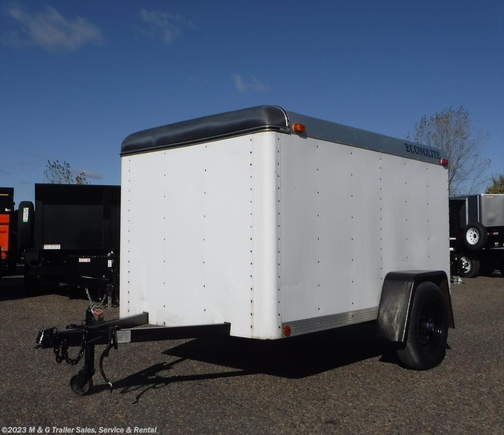 Used Cargo Trailer - 1994 Featherlite 5\u0027x8\u0027 With Barn Doors! & CTE3903 - 1994 Featherlite 5\u0027x8\u0027 With Barn Doors! for sale in ... Pezcame.Com