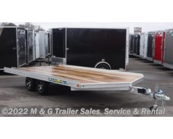 #173041 - 2018 Aluma 8616/13 Aluminum Snowmobile Trailer