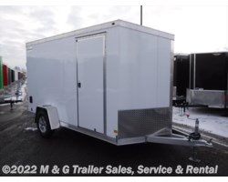#362442 - 2018 Haulmark ALX 6x12SA Aluminum Enclosed Cargo Trailer - White