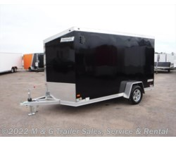 #362443 - 2018 Haulmark ALX 6x12SA Aluminum Enclosed Cargo Trailer - Black