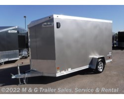 #362444 - 2018 Haulmark ALX 6x12SA Aluminum Enclosed Cargo Trailer - PEWTER