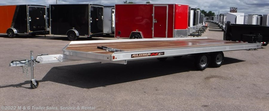 2018 Aluma 8620/13 Aluminum Snowmobile Trailer
