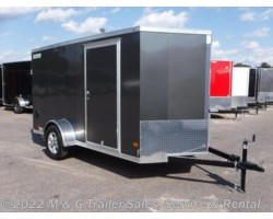 #357932 - 2018 Haulmark 5000s 6X12SA Enclosed Cargo – Charcoal