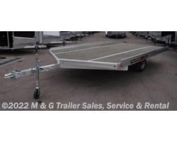 #178328 - 2019 Aluma 8612D Aluminum Snowmobile Trailer