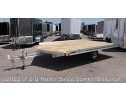 #000740 - 2018 FLOE 12' Drive On/Off Snowmobile Trailer