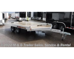 #177385 - 2018 Aluma 8614/13 Aluminum Snowmobile Trailer