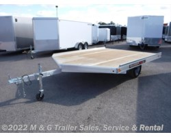 #175910 - 2018 Aluma 8610D Aluminum Snowmobile Trailer