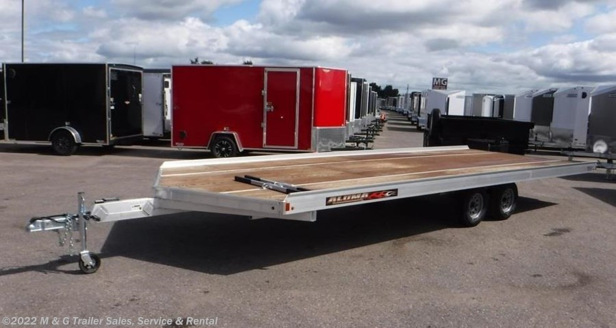 2019 Aluma 8624/13 Aluminum Snowmobile Trailer