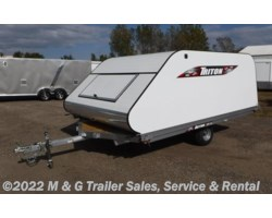 #v17794 - 2018 Triton Trailers 12VR Coverall - White