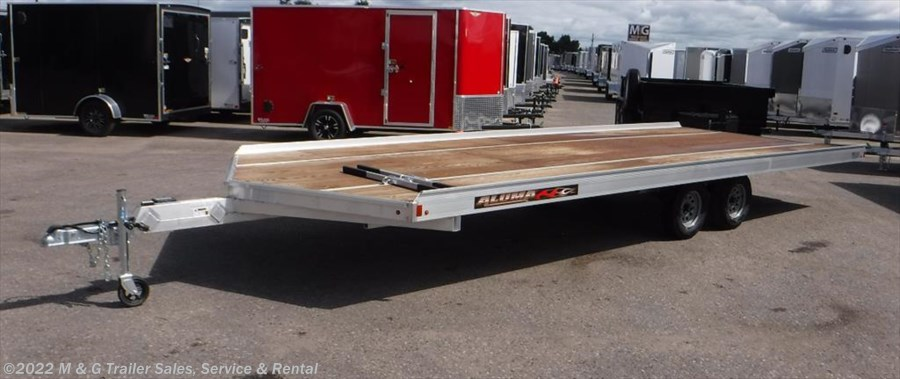 2019 Aluma 8622/13 Aluminum Snowmobile Trailer