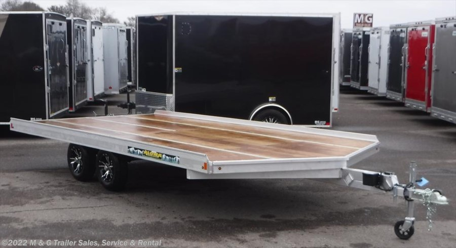 2019 Aluma 8616/13 Aluminum Snowmobile Trailer