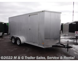 #354913 - 2018 Haulmark 7x16TA Enclosed 7' Int Cargo – Silver