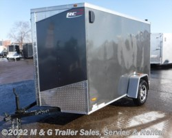 #644246 - 2018 RC Trailers 6x10SA Enclosed Cargo - Charcoal