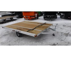 #x55638 - 2017 Triton Trailers XT10-101 QP Tilt 2 Place Snowmobile Trailer