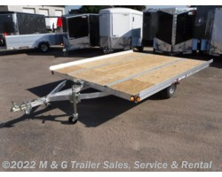 #x55639 - 2017 Triton Trailers XT10-101 QP Tilt 2 Place Snowmobile Trailer