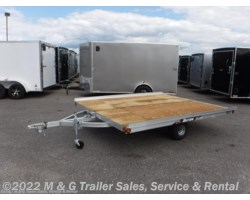 #x56155 - 2018 Triton Trailers XT10-101 Tilt 2 Place Snowmobile Trailer