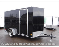 #354460 - 2018 Haulmark Transport 6x12 Cargo Trailer - Black