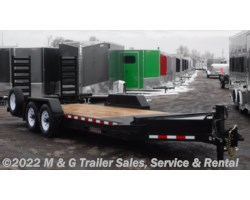 #001489 - 2018 Midsota ST-20 Skidloader Trailer - Black