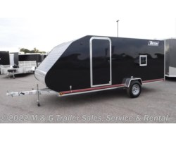 #L56102 - 2019 Triton Trailers TC167 Enclosed Snowmobile Trailer - Black