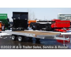 #000946 - 2017 FLOE Versa Max 16' Snowmobile Trailer