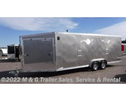 #361413 - 2018 Haulmark ALX 7.5x28TA Enclosed Aluminum Snow Trailer - Pewter